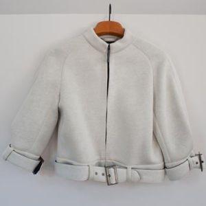 Emporio Armani white jacket